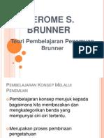 Teori Pembelajaran Brunner