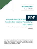 BCI Productivity 2013 Final
