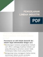 Pengolahan limbah industri