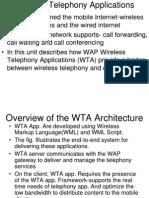 Wireless Telephony Applications