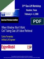 4 --- Presentation --- ExxonMobil --- GL Valve Retrieval in Deviated Wells