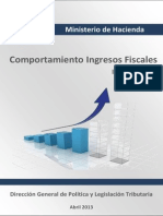 Informe Ingresos Fiscales Año 2012