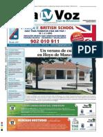 La Voz de Torrelodones y Hoyo de Manzanares- Mes de Julio 2014