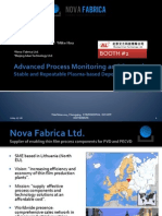 Advanced Process Monitoring and Control