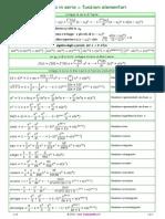 Sviluppo Serie Funzioni Elementari 1 6