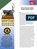 mass media award ceremony 2014