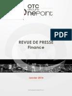 Revue de Presse_Janvier 2014