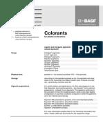 BASF Colourant 2005