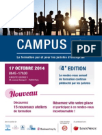 CAMPUS AFJE 2014
