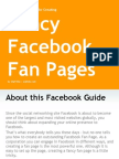 Fancy Facebook Fan Pages - A Step by Step Guide