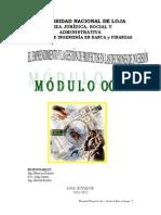 Módulo 8 El Emprendimiento y La Gestión de Proyectos en Las Decisiones de Inversión