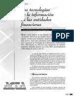 Tic en Instituciones Financieras