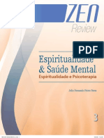 Espiritualidade e Psicoterapia