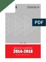 Agenda de Competitividad 2014-2018