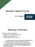 module 3-Market Forces