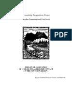 Stewardship Progression Evaluation