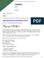 ASAP (Accelerated SAP). Es La Metodología Acelerada de Implementación SAP