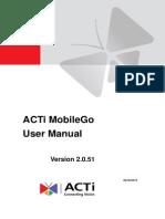 ACTi MobileGo v2.0.51 User Manual