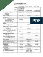 Approved Academic Calendar 2014-2015