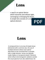Physics Lens Pp t