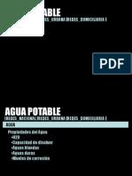Agua Potable 2008