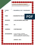 Diagnostico Situacional Del Asentamiento Humano Asociación de Viviendas El Mirador Juanjuicillo Parte Alta