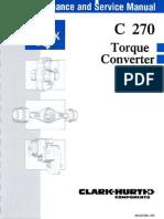 V40232 Clark C270 Torque Converter
