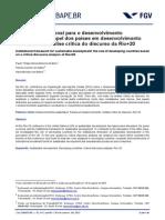 Paises Em Desenvolvimento - Analise Do Discurso