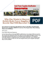 Discover the Small Switch Mode Power Supplies Modification Secrets.doc