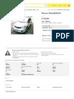 Tida Seminuevo - Año 2012 - 36000 km - en MercadoLibre