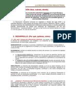 Apuntes Tema 3. Revoluvion Industrial