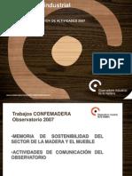 Present Ac i on Observator i o Confe Madera