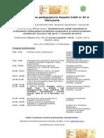 Program Konferencji 6.06 2014