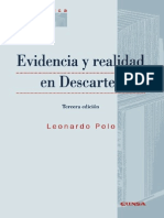 Evidencia y Realidad en Descartes - Polo, Leonardo