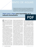 Article Vapor Puro y Agua Para Inyectables en La Industria Farmaceacuteutica Www.farmaindustrial.com