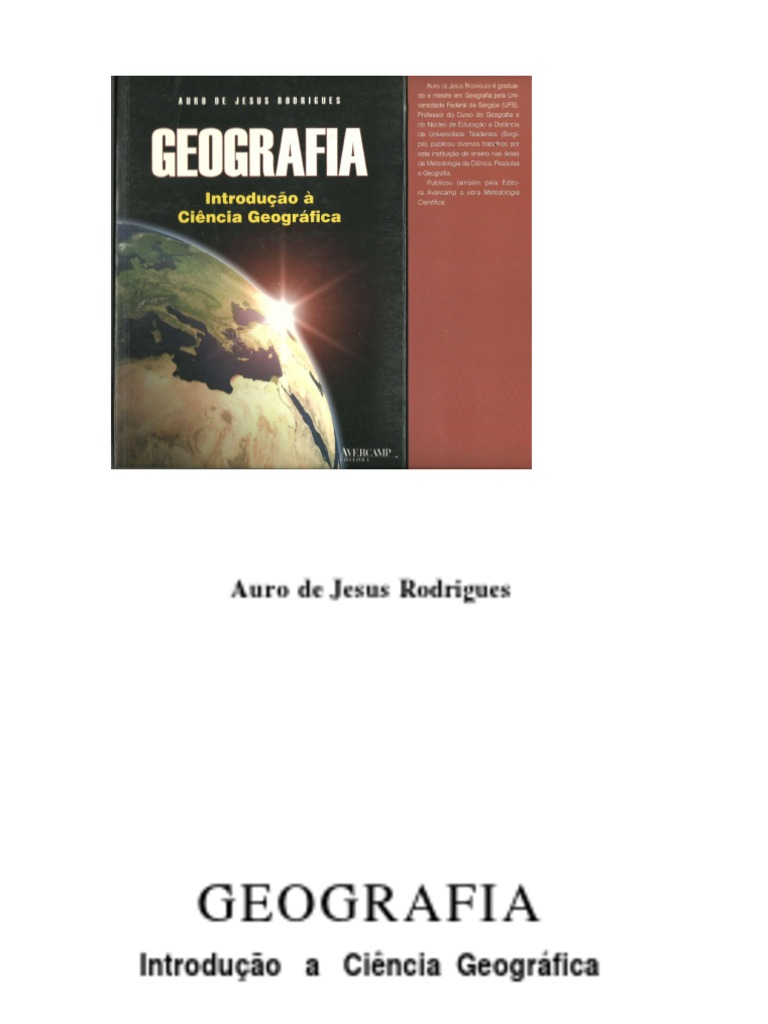 Geografia introduo a ciencia geogrficalivro fandeluxe Images