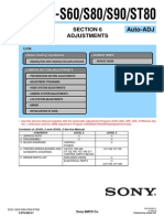 SONY DSC-S60, S80, S90, ST80 SECTION 6 ADJUSTMENTS AUTO-ADJ (9-876-869-53).pdf