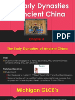 the ancient early dynasties of ancient china