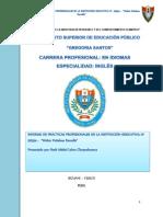 Informe Depracticas de Observacion