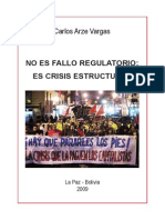 No Es Fallo Regulatorio