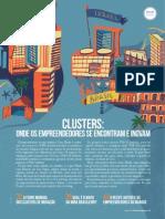 Clusters Onde Os Empreendedores Se Encontram e Inovam