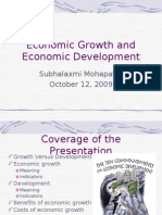 Economic Growth and Economic Development_presentation
