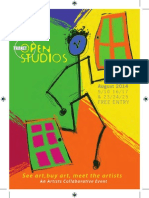 Thanet Open Studios 2014 Full Listing