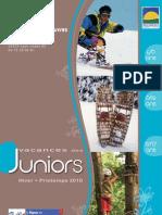 Vacances Juniors Hiver-Printemps 2010 FOL69