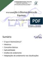 Biomecânica da claudicação de equinos