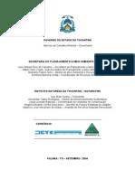 Indicadores - Governo de Tocantins