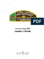 2007 Summer Camp Leaders Guide