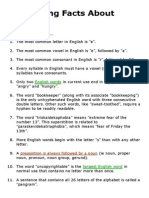 Interesting Facts About English _ EnglishClub