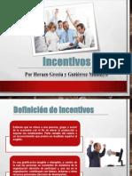 Diapositivas INCENTIVOS