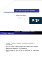 Lab2 Fitting Probability Distributions